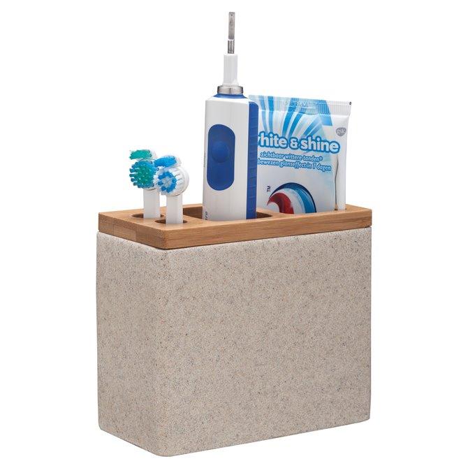 Sealskin Sealskin Grace Toothbrush Holder Polyresin Sand