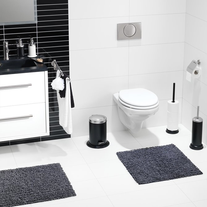 Sealskin Sealskin Acero Soap Dispenser Stainless Steel Black